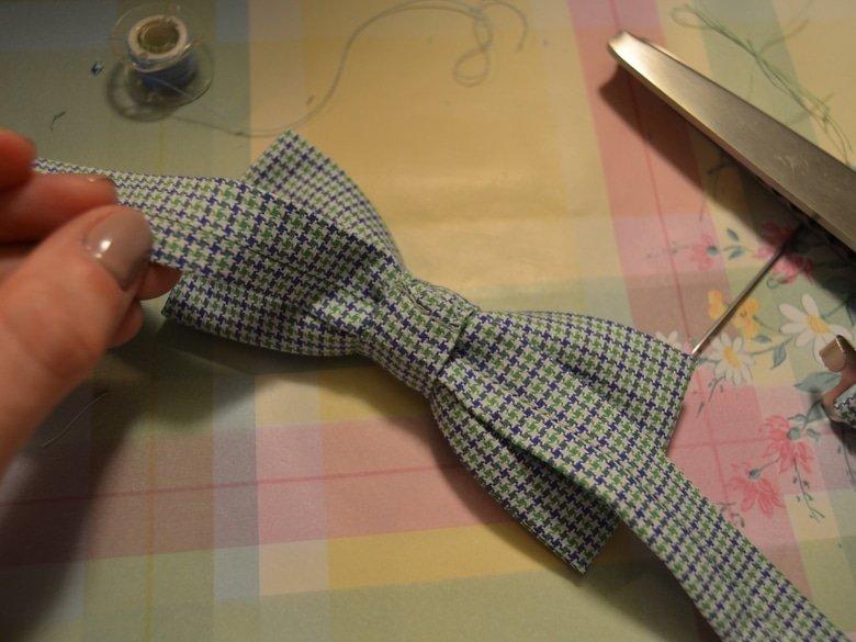 Мастер-класс: шьем галстук-бабочку Высоцкая Life