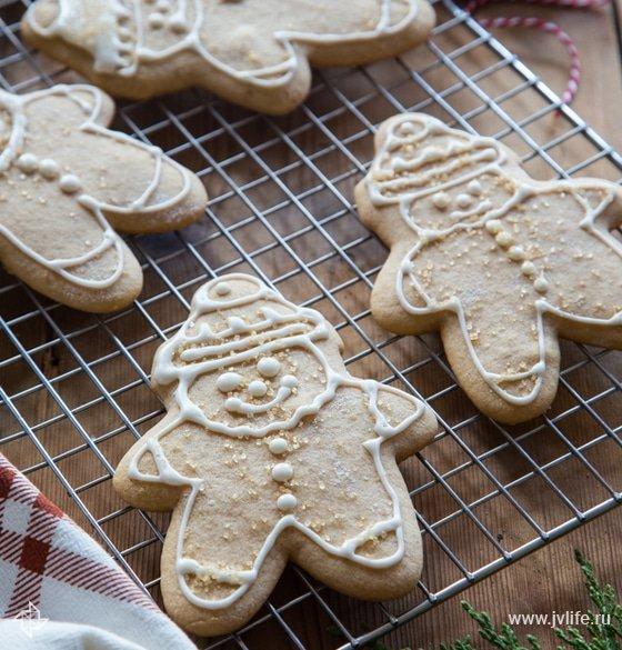 Как сделать имбирные печенье