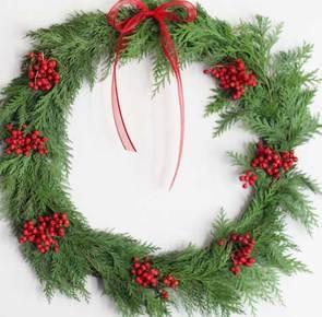 Diy berry wreath 10