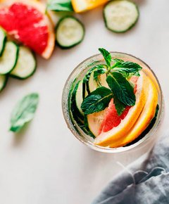 Drink yourself skinny detox water