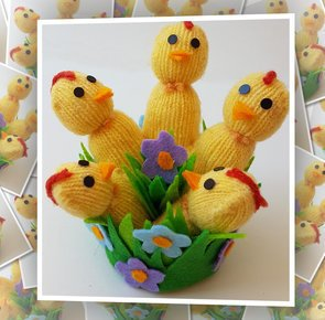 Chicks handmade craft