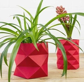 Tutorial slider top origamivase falten main