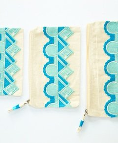 Diy embellished zippered pouch 3