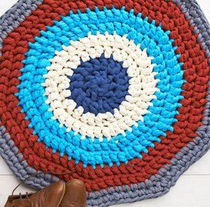 Crochet rug yarn fresh free crochet patterns how to make a crochet rug mollie of crochet rug yarn