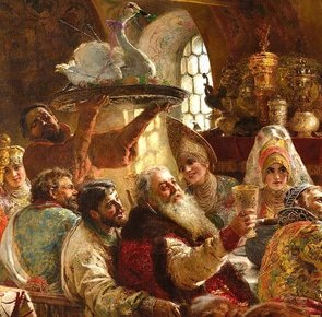 2880px a boyar wedding feast %28konstantin makovsky  1883%29 google cultural institute 0