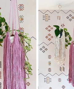 Diy fringed macrame plant hanger %e2%80%93 honestly wtf