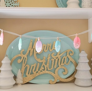 Diy holiday garland decorations