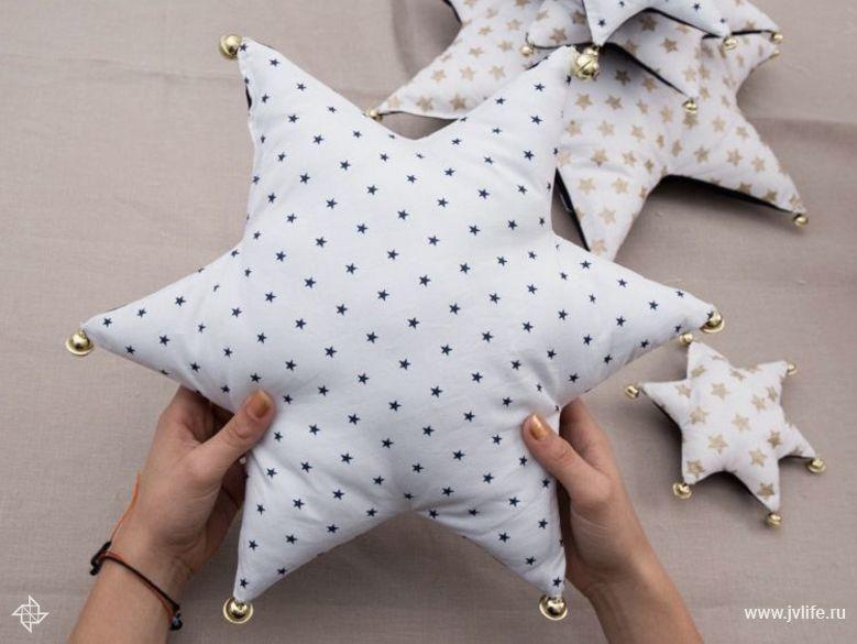 Подушка звезда своими руками Высоцкая Life 77