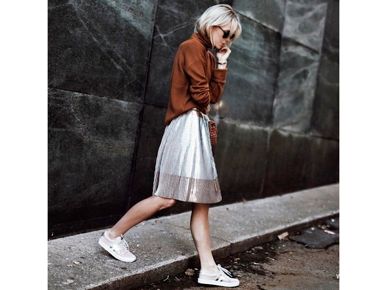 Happily grey sneakers with