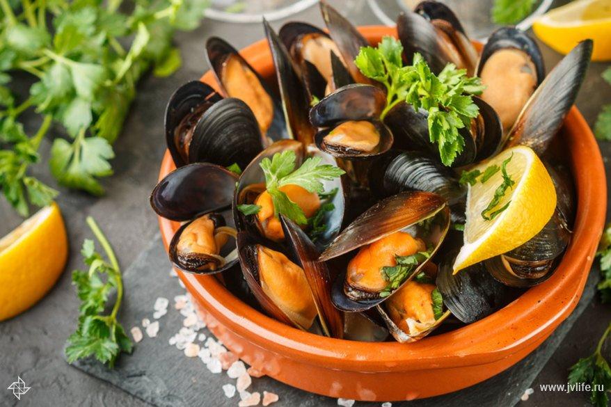 Морепродукты — польза даров моря