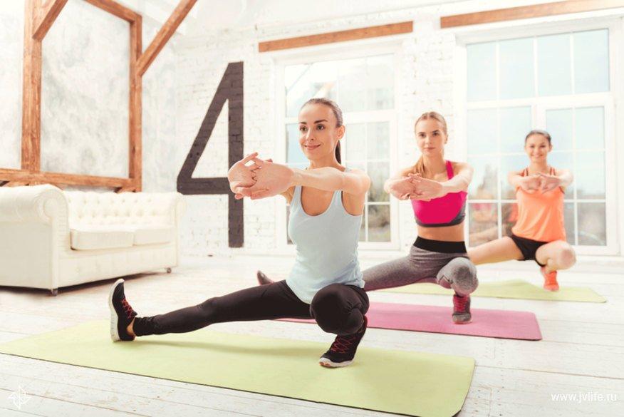 Худеем дома: комплекс упражнений для проблемных зон