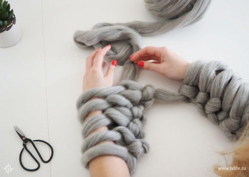 Arm knitting 12