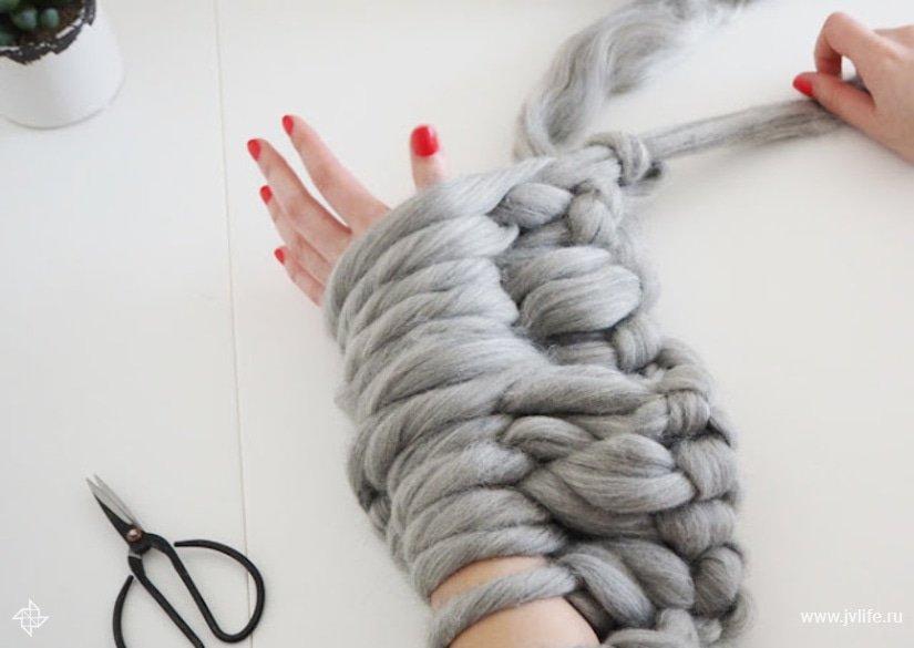 Arm knitting 13