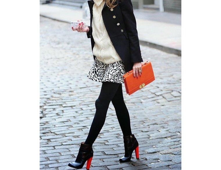 Stilettos versus block heel shoes 14