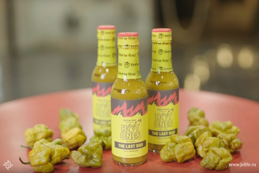 Everything you need to know about the last dab  the hottest sauce on hot ones   youtube   google chrome 2019 02 07 17.10.09