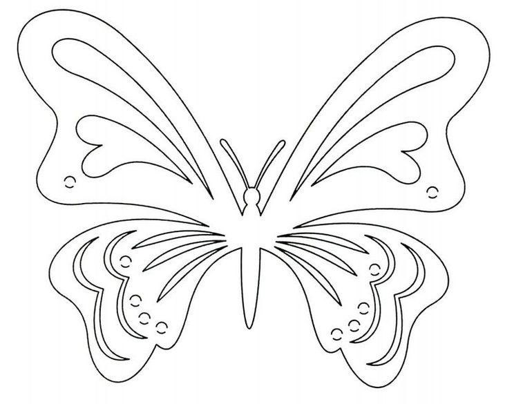 Buterflies delicate 4 640x905