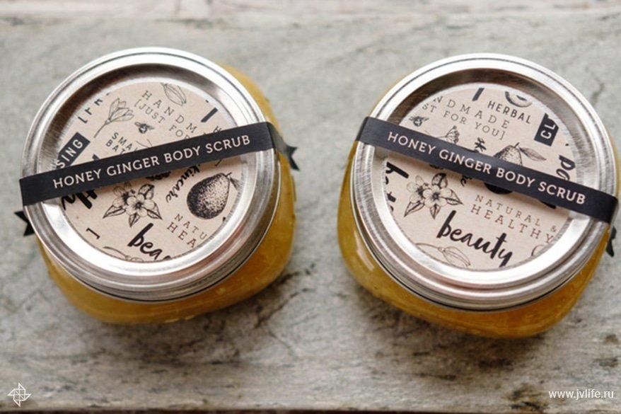 Honey ginger body scrub 0008