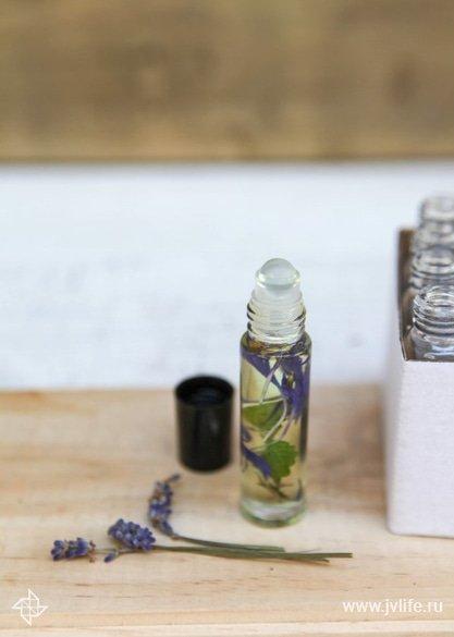 Natural perfume recipe