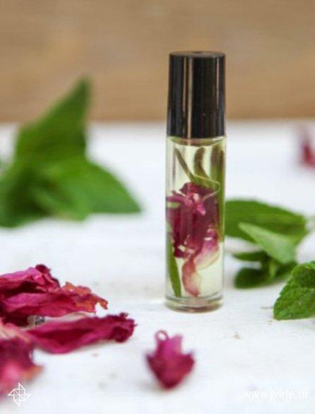 Aromatherapy perfume recipe