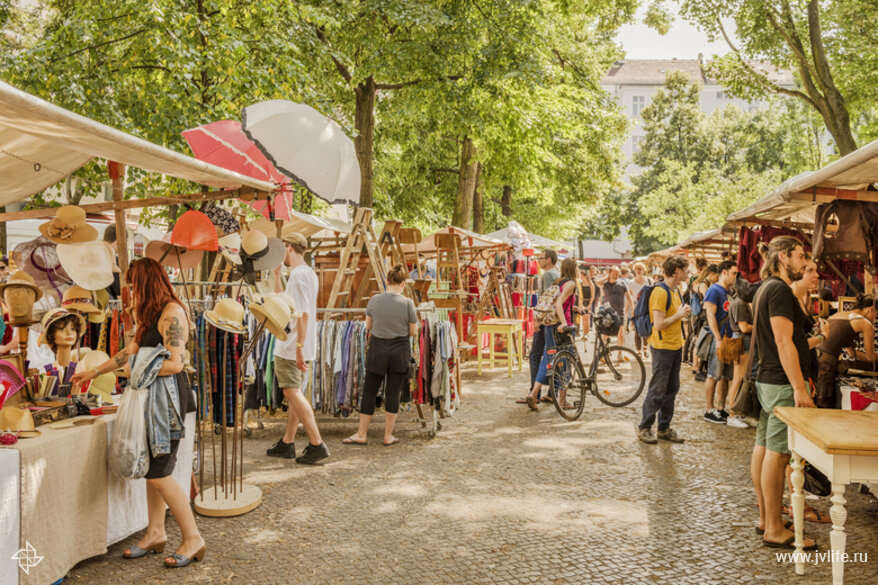 Tiergarten berlin market
