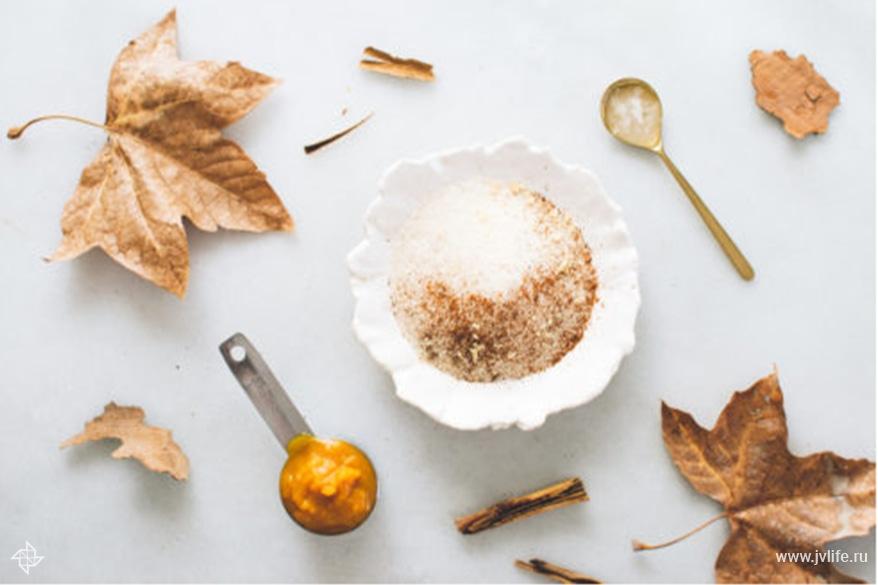 Ingredients pumpkin spice scrub 333x500