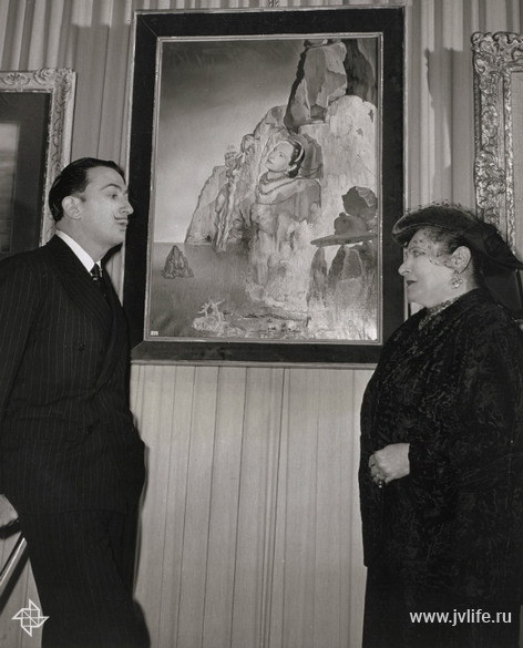 Bp with salvador dali paris archives helena rubinstein loreal dr