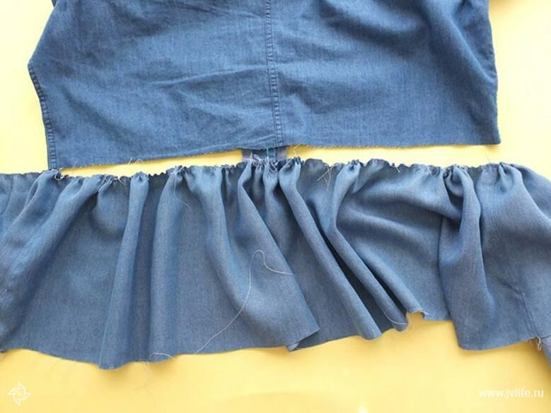 Ruffle shirt 7