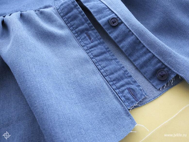Ruffle shirt 10