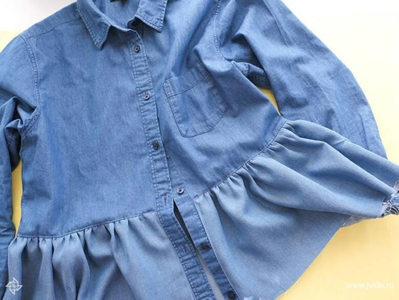 Ruffle shirt 11